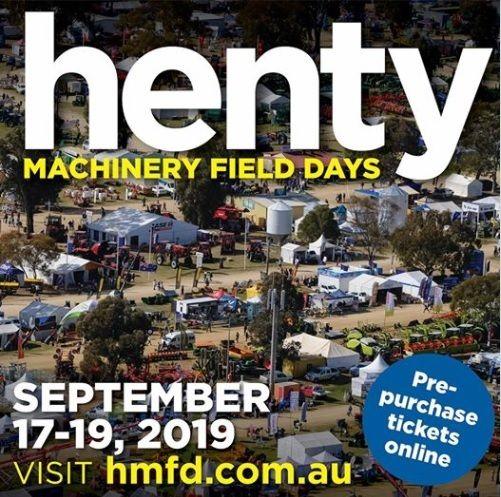 henty field days 2019