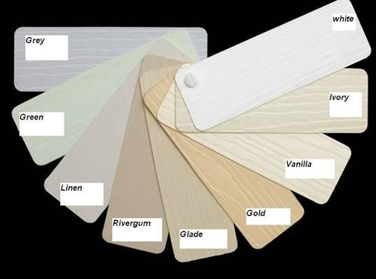 Weatherboard cladding options we have to offer